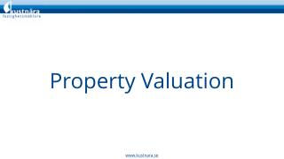 Property Evaluation for Real Estate