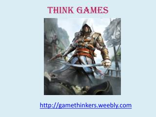 gaming websites think games  video game reviews