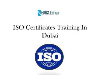ISO Certificates Training In Dubai