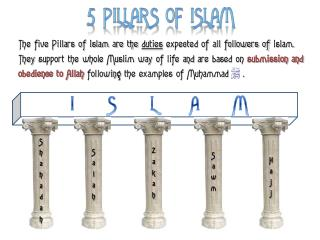 Mayer - World History - 5 Pillars of Islam