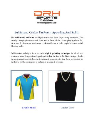 Cricket Uniforms Manufacturers | Suppliers Australia USA