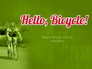 Choose the Best Deal  on Bicycle and its Accessories