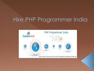 Hire php programmer india