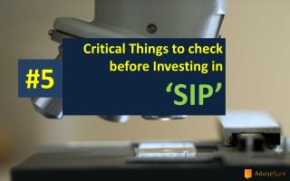 HOW TO START INVESTING IN MUTUAL FUND SIP