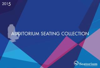 Leading Manufacturer & Supplier of Auditorium Seatings & Chairs From Turkey.