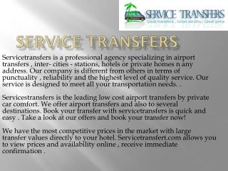 Marrakech Airport Transfers
