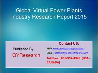 Global Virtual Power Plants Market 2015 Industry Shares, Forecasts, Analysis, Applications, Study, Trends, Development,