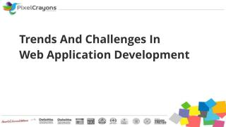 Trends And Challenges In Web Application Development