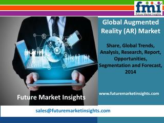 Augmented Reality (AR) Market: Industry Analysis, Trend and Growth, 2014 - 2020 by Future Market Insights