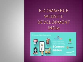 E-CommerceWebsite Development India