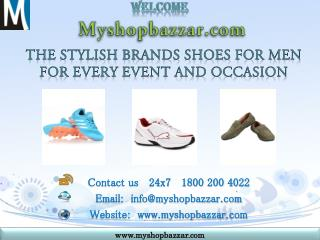 Buy Mens Footwear Online at Best Price in india