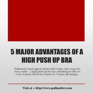 High Push Up Bra | Push up bra for sale