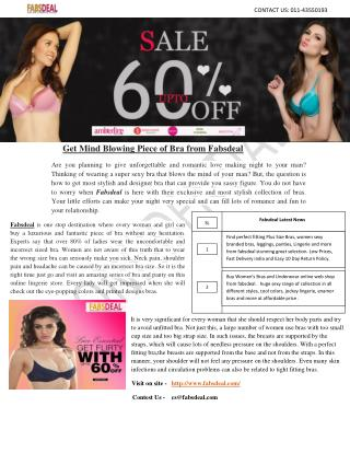 Buy Bra online at different Price