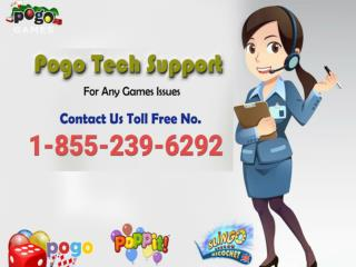 1-855-239-6292 Pogo Technical Support