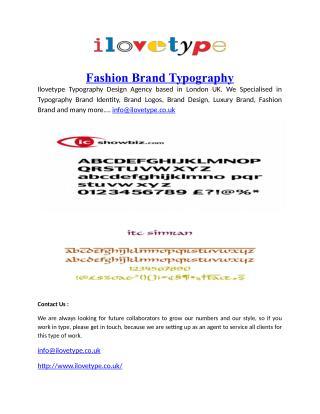 Fashion-Brand-Typography