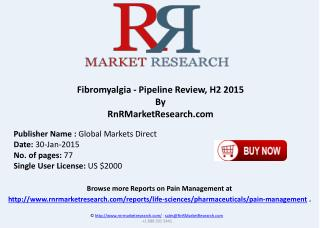 Fibromyalgia Pipeline Review H1 2015