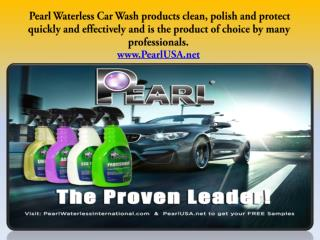 Pearl Waterless Car Wash in Xtreme Mobile.