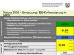 Natura 2000   Umsetzung