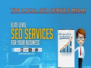 Top SEO service Miami