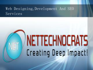 Web Designing,Development And SEO Services