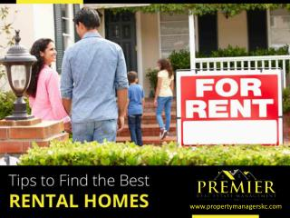 Find a Rental Home in Kansas City