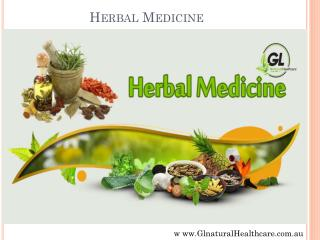 Natural Chinese Medicines by Gl Natural Healthcare