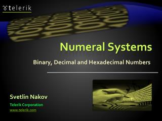 Numeral Systems