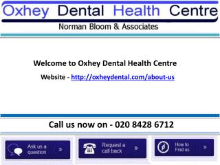 Cosmetic dentists London - OxheyDental.com
