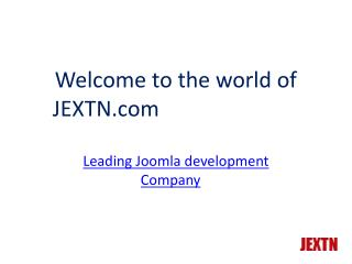 Jextn |  Joomla Development Company | Joomla Developer