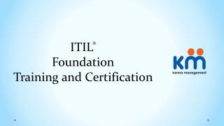 ITIL Foundation Training and Certification | Kenna Management