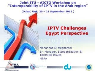 IPTV Challenges Egypt Perspective