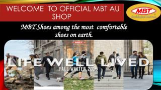 MBT Mens Footwear Collection