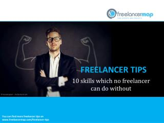 10 skills which no freelancer can do without