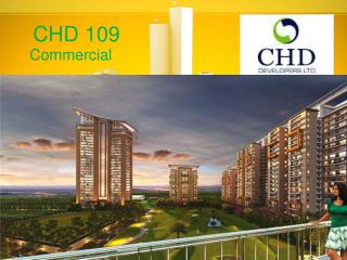 CHD 109 Commercial New Project Gurgaon – Call - 9818600027 for Booking
