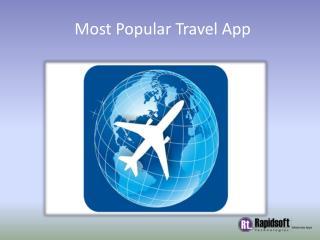 Most Popular Travel App