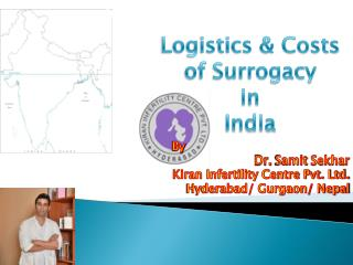 logistics and costs of surrogacy in india