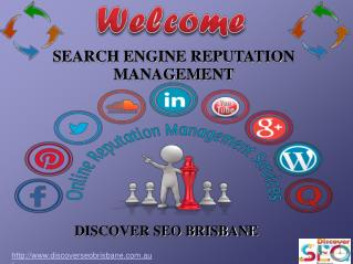 Search Engine Reputation Management | Discover SEO Brisbane