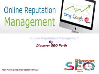 online reputation management services in Perth