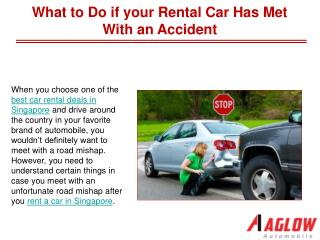 What to Do if your Rental Car Has Met With an Accident