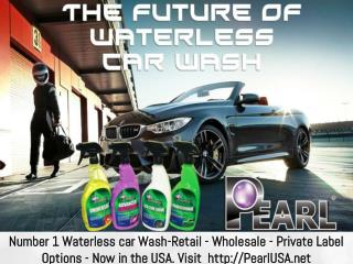 Number 1 Waterless car Wash-Retail - Wholesale - Private Label Options - Now in the USA.