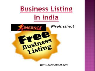 Business listing in India