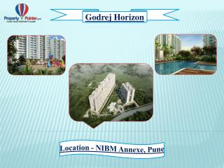 Godrej Properties offers Godrej Horizon at NIBM Annexe in Pune