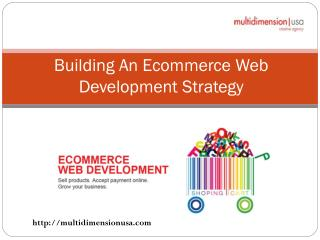 Building An Ecommerce Web Development Strategy