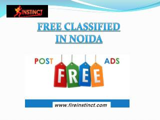 Free Classifieds in Noida