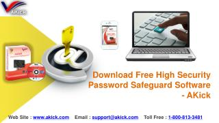 Download Free High Security Password Safeguard Software - AKick