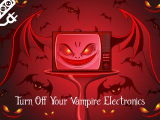 Turn Off Your Vampire Electronics or Get a Loan Online