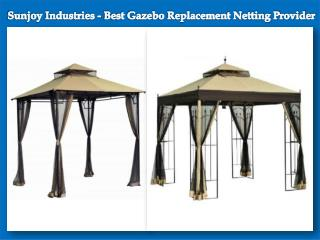 Sunjoy Industries - Best Gazebo Replacement Netting Provider