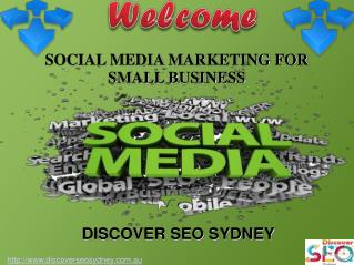 Social Media Marketing For Small Business in Sydney