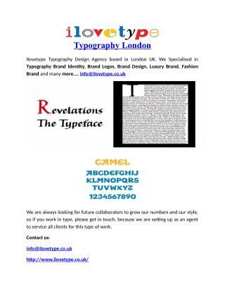 Typography London