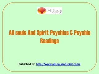 Psychics & Psychic Readings